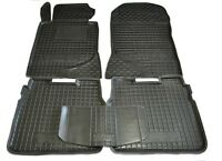 Fit Mercedes W124 4D 1985-1995 Rubber  Carmats All Weather Alfombras Fussmatten