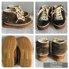 Chaussures Bottines Fille Vintage Walt Disney Bambi Pichette T 24 Made In France
