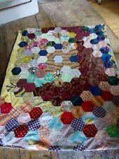 Vintage patchwork throw