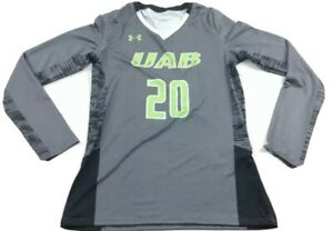 Under Armour Girl's UAB Dragons LS Volleyball Jersey Sz. L NEW UJVJ2LG.