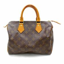 Originale Louis Vuitton Borsetta Speedy 25 M41528 Marrone Monogramma 302845