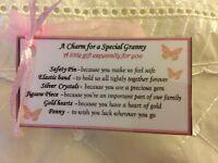 Keepsake Mothers Day gift for gift Granny Gran Grandma Birthday gift her present