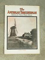The AMERICAN THRESHERMAN Vintage Magazine Newspaper April 1927