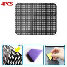 4Pcs Auto Sticker Static sunscreen Sun Visor Protector Sunburn injury Black