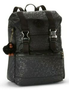 Kipling EXPERIENCE S Small Backpack - Black Scale Emb