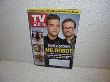 TV Guide Magazine July 25 2014   Mr. Robot  JFK Jr. Movie  Game of Thrones