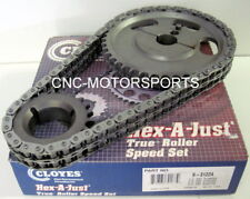 CLOYES 9-3122A HEX-A-JUST TRUE ROLLER TIMING CHAIN KIT Ford Big Block V8 429 460