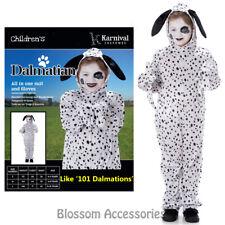 Ck861 Dalmation Dog Spotty Dog Kids Girls Book Week Boys Fancy Costume