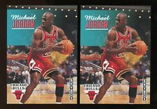 (2) 1992-93 Skybox MICHAEL JORDAN #31 Basketball Card LOT