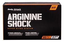 (13,17 Euro/100g) Arginine Shock Body Attack 80 Kapseln mit Arginin Citrullin