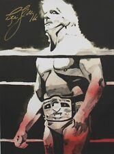 Autographed Ric Flair 18 x 24 Poster, Print WWE NWA WCW WWF NWO