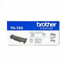 NOB Brother Genuine Toner Cartridge TN760 in Black - Replacement High Yield