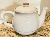 Vintage MSI Japan BROWN Simplicity Monterry Siera Teapot w/Lid 4 cup Colonial