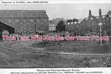 CH 439 - Cable Testing Track For Tyres, Helsby, Cheshire c1908 - 6x4 Photo