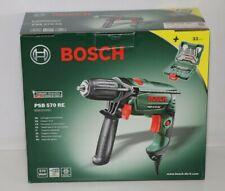 Bosch Schlagbohrmaschine  PSB570RE inkl. 33 Teil.Zubehör Set, 570 Watt
