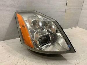 06-09 Cadillac XLR Passenger Right Xenon HID Headlamp Headlight Light CRACKED