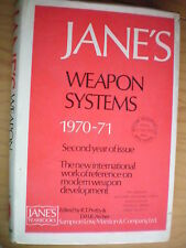 JANE'S  WEAPON SYSTEMS 1970-71, 2nd EDITION, NEW 606 PAGE $100 GUN BOOK / Offer?