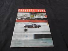 Vitnage 1966 Corvette News Vol 9 # 5 Car Automobile Mag