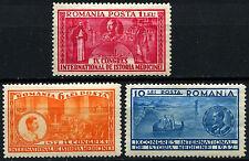 Romania 1932 SG#1262-4, 9th Int. Medical Congress MNH Set #D44065