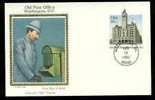 "U.S. FDC #UX99 Colorano ""Silk Cachet Washington, DC Old Post Office Building"