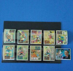 1979 San Marino  Serie  completa  singoli   MNH**  Walt  Disney