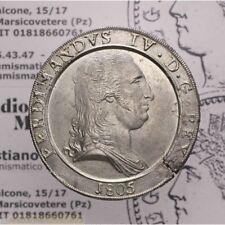 Piastra 120 Grana 1805 Capelli Lisci (Napoli Ferd IV) qFDC LOT2007