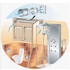 6 inch duct fan silent bathroom exhaust fan ventilation fan <