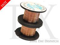 2x 0.1MM 15m Soldering Solder Copper Enamelled PPA Wire Reel Roll