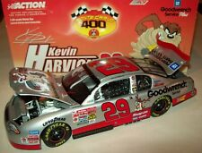 Kevin Harvick 2001 GM Goodwrench Looney Tunes Taz #29 Rookie Chevy 1/24 NASCAR