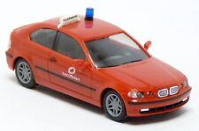 Herpa 045865 - BMW 3er Compact E46 Feuerwehr Offenbach rot ELW KdoW - 1:87 H0