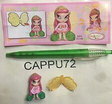 AMORE+ CARTINA POP PIXIE 1  -2011  DC168  Kinder sorpresa 2011/2012