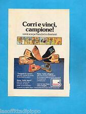 TOP977-PUBBLICITA'/ADVERTISING-1977- BORRI - LE SCARPE FANS