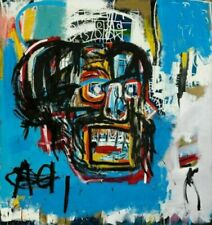 Jean-Michel Basquiat Giclee & Iris Canvas Art Prints