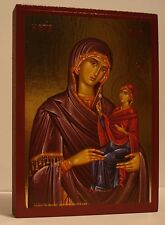 Hl. Anna mit Maria Muttergottes Madonna Ikone St. Icon Icone Ikona Ikonen Icoon