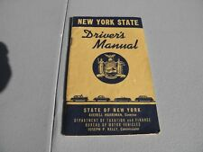 """June 1956 New York State Driver's Manual 3 1/2"""" x 5 1/4"""" 52 page Booklet VG+"""