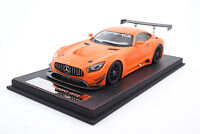 #AS002-81 - FrontiArt Mercedes AMG GT3 - Matt-Orange - 1:18