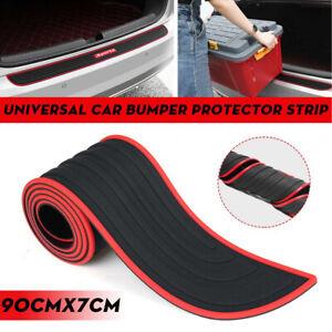 1pc Sports Car Rear Guard Bumper Scratch Protector Non-slip Pad Cover Rubber