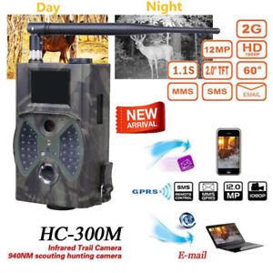 SunTek HC-300M 12MP GPRS MMS 1080P Wildlife IR Night Video Hunting Trail Camera