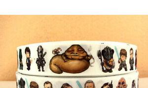 Star Wars Ribbon includes Jabba the Hut Yoda R2-D2 C-3PO Darth Vader and more