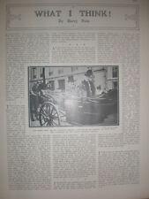 Printed photo Lord Mayor London Sir W Vaughan Morgan in Paris  1906