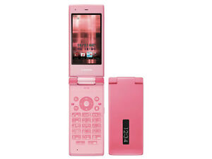 DOCOMO SHARP SH-03E STYLISH PINK WATERPROOF FLIP PHONE UNLOCKED NEWs
