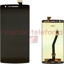 vetro touchscreen per OnePlus One nero vetrino touch display LCD schermo A0001