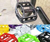 SMS Magnesium Pedal MTB Mountain Road Bike Bicycle Bearings flat Platform Pedals