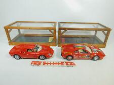 BP496-6 #2x Burago 1:18 Ferrari-Modell: 3033 250 Le Mans + 3027 Gto 1984 ,Muy