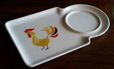 Vintage Mid Century HOLT HOWARD 1962 Ceramic Rooster Motif Side Dish Plate Rare