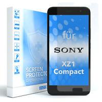 EAZY CASE Sony Xperia XZ1 Compact Displayschutz Schutzfolie Glasfolie Schutz 9H