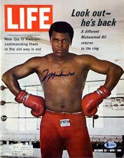 Muhammad Ali Authentic Autographed Signed Life Magazine Beckett COA A08494