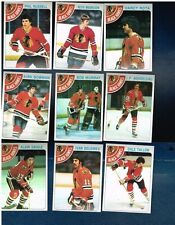 1978- 79 Topps Hockey complete and partial team sets  various teams  Your Choice