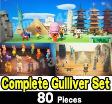 Animal Crossing New Horizons  Gulliver's Complete Collection Set 80 PCS