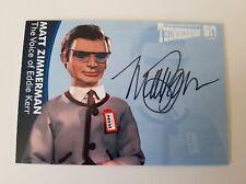 Unstoppable Cards Thunderbirds 50th Anniversary Matt Zimmerman Autograph Card